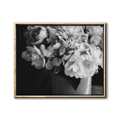 Black and White Moody Floral Art Downloadable Print – Chaos & Wonder Design Nursery Art, Nursery Ideas, Printing Services, Online Printing, Coastal Wall Decor, Art File, Botanical Prints, Traditional House, Printable Wall Art