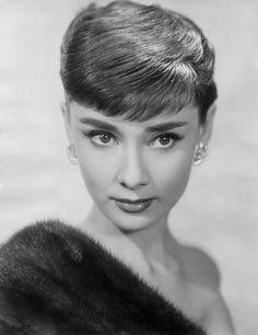 Audrey Hepburn, real classy.