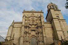 Galicia Basilica de Santa Maria la Mayor en Pontevedra,capital
