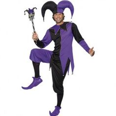 Costume homme joker médiéval
