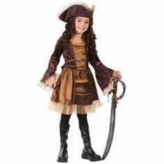 Déguisement De Pirate Pour Fille Taille S (4/6 Ans)_5976s