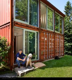 Renée Finberg  TELLS ALL  in her blog of her Adventures in Design: Container Homes - Thinking OUT Of The Box And IN The Box At The Same Time