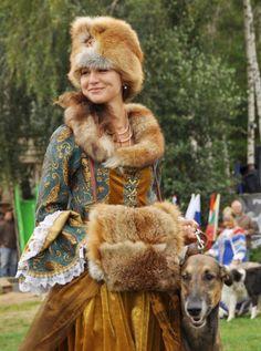 """lamus-dworski: """" Costume of Polish szlachta (nobility), c. Photo via ogarkowo. Ukraine, Mode Russe, Eslava, Mode Boho, Folk Costume, My Heritage, People Of The World, Folklore, Historical Clothing"""