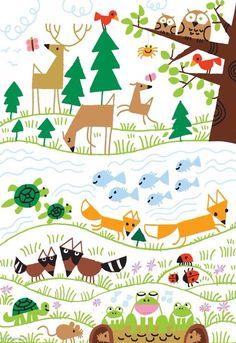 Cute Animals - Ed Emberly