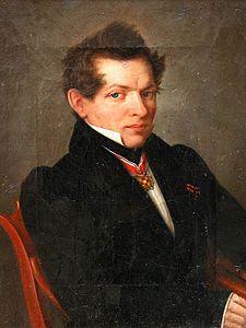 Nicholas Lobachevsky (Wiki) - published about hyperbolic geometry 2 years before Bolyai.