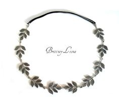 Silver Grecian Headband
