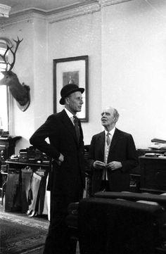 Huntsman Savile row, 1957