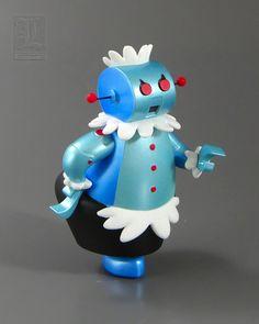 THE JETSONS - ROSIE THE ROBOT Keepsake Ornament by Hallmark by LUNZERLAND., via Flickr