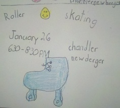 Evanston Newbie: Roller Skating on Saturday Nights at Chandler Newberger