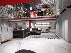 Proyectos infografía 3D: Pepecabrera / Salon y Cocina -