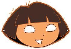 Free Printable Hallo Free Printable Halloween Masks - Dora Diego and Boots masks. Third Birthday, 4th Birthday Parties, Birthday Fun, Printable Halloween Masks, Printable Masks, Free Printable, Mascaras Halloween, Dora And Friends, Ideas Para Fiestas