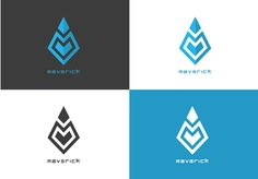 Maverick logo design on Behance