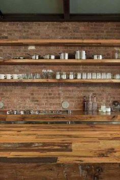10 Fab Kitchen Ideas Using Brick Walls - Decoholic