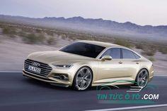 Audi A7, Audi S7 2018 sắp tới và hiệu suất dựa trên Audi RS 7