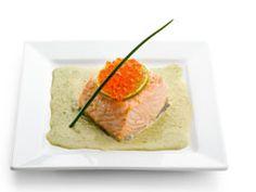 Saumon à la crème de poireaux : Recettes de poireaux | FemmesPlus