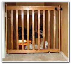 DIY Pet Gate | Pet gate, Gate and Dog