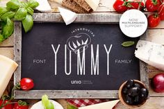 Yummy - Font Family by Unio | Creative Solutions on @creativemarket