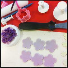 DIY FONDANT FLOWERS & BUTTERFLIES (AKA making sugar paste even sweeter!)   Miss Marzipan