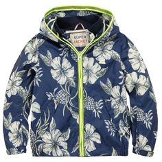 Waterproof printed windbreaker from Scotch  Soda - 84,80 €