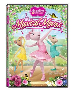 Angelina Ballerina: Musical Moves - Real Mom Holiday Picks - A Real Mom in the Media Angelina Ballerina, Universal Studios, Hippie Mom, Ballerina Birthday, Kid Character, Modern Dance, Losing Her, Cool Things To Buy, Musicals