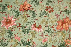The Textile Blog - absolutely beautiful survey of Belle Epoch textiles