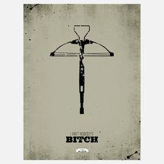"""Dead II"" print by Ryan McArthur. The entire ""The Walking Dead"" set is genius."
