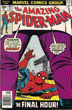 1977 - Anatomy of a Cover - Amazing Spider-Man #164by John Romita