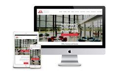 Waymarc Business Interiors Website Design - Lindsay Toth