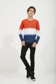 Dip Dye France Tee + Crow Slim Jean - Pavement Brands