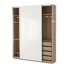 combinaisons sans portes pax syst me ikea am nagement appart pinterest ikea systeme. Black Bedroom Furniture Sets. Home Design Ideas
