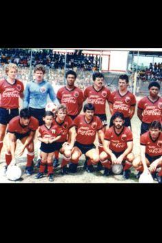 Equipo de finales de los 80s