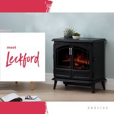 If you're looking for a traditional cast-iron style stove without costly installation or safety concerns, then the NEW Leckford is for you. The electric Optiflame effect gives off a crackling fire sound effect that's so good, any guest who visits will think it's real! Plus, the authentic details of opening double doors and the eye-catching design means you can #heatinstyle #dimplexau #homeheating #electricfireplace #compactstove #heatwithstyle #Leckford Electric Fires, Electric Fireplace, H Style, Double Doors, Cast Iron, Stove, Safety, Traditional, Eye