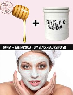 OR baking powder and honey. Either way.   - Sugarscape.com