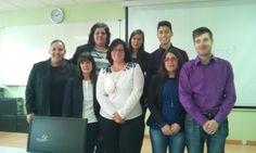 Grupos de ORGANIZACIÓN e EXPOSICIÓN. G. 4ºESO: Elisa, Brais, Eva e Silvia. G. 1ºBACH: Leticia, Rocío, Aldara e Steve.