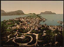 (General view, Ålesund, Norway) (LOC) (3174173093) - Ålesund - Wikipedia, the free encyclopedia