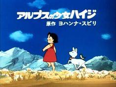 Heidi – los títulos originales del animé (1974)
