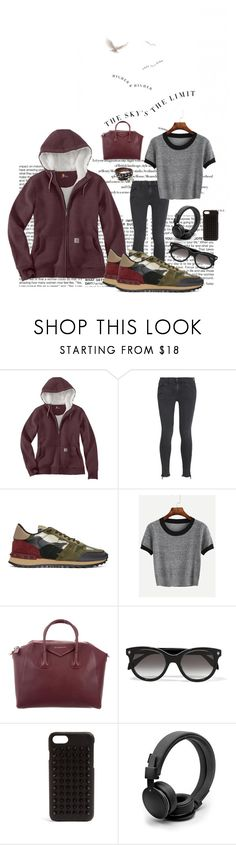 """Unlimited"" by karito-pinup ❤ liked on Polyvore featuring BCBGMAXAZRIA, Carhartt, rag & bone/JEAN, Valentino, Givenchy, Alexander McQueen, Christian Louboutin, Urbanears and Hoodies"