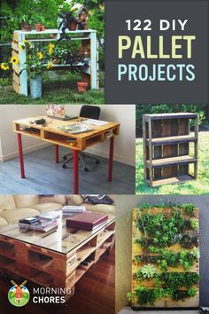 122 DIY Recycled Wooden Pallet Projects and Ideas with Detailed Tutorials - repurpose your unused pallets!