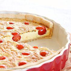 Cherry Tomato Quiche - Roxana's Home Baking
