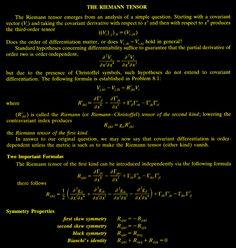 The Riemann Tensor
