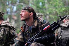 civil war in the Ukraine.   People's Republic of Donetsk. 2014