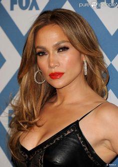 Jennifer Lopez assiste à la soirée du Winter All-Star TCA Press Tour de la chaîne FOX à l'hôtel Langham Huntington. Pasadena, le 13 janvier 2014.