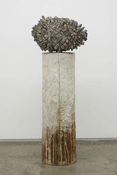 Shigeo Toya | 'Spirit Transformation', wood, plaster, acrylic