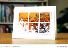 Hello! I am back with another project for Mama Elephant using the new Peek a Frame creative cuts. This time, I'm using it as it was intended - a framed window where you can flip and see what is und...