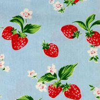 Cute strawberry Cath kidston fabric