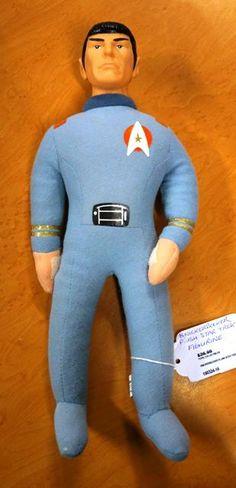 "Star Trek: Original Series Knickerbocker Plush ""Mr. Spock"" Figurine"