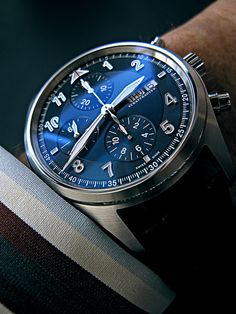 IWC Laureus Pilot, 2007. The second in the series.