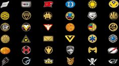 Super Sentai Logos by jm511 on DeviantArt