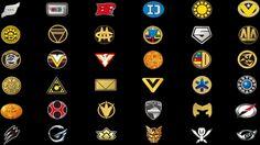 Super Sentai Logos by jm511 on DeviantArt