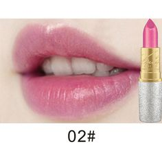 Hengfang mermaid shining lipstick ($8.61) ❤ liked on Polyvore featuring beauty products, makeup, lip makeup, lipstick, shiny lipstick, lip gloss makeup, wet look lipstick, gloss lipstick and glossy lipstick